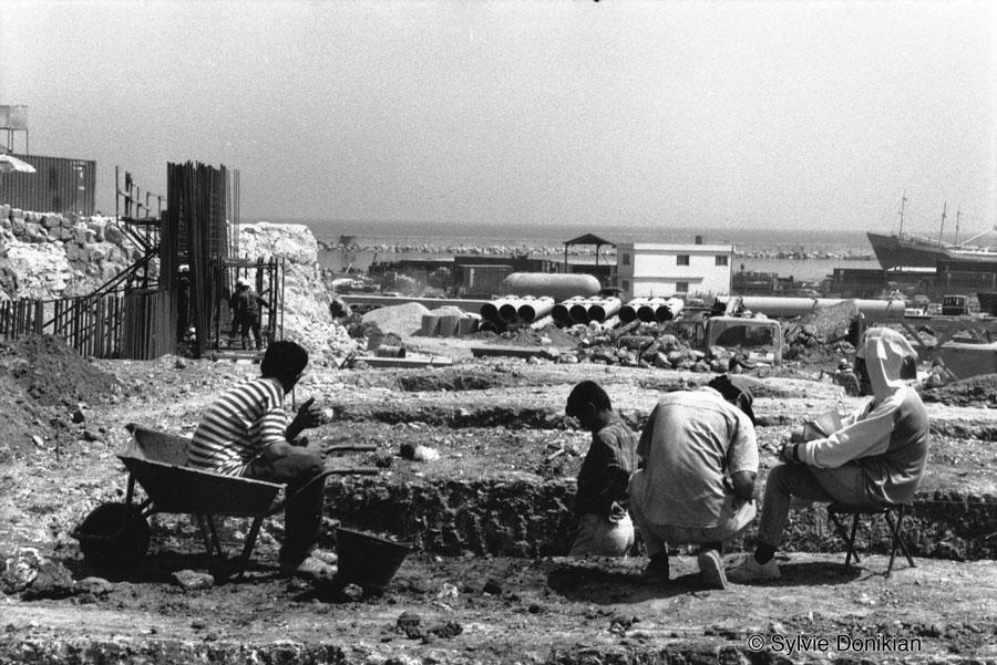 Chantiers des fouilles dans les quartiers du Centre – Ville de Beyrouth 3