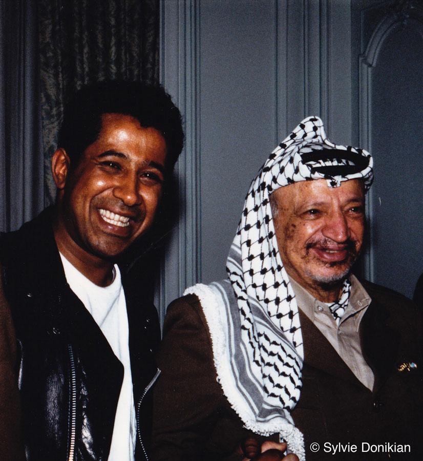 Khaled et Yasser Arafat