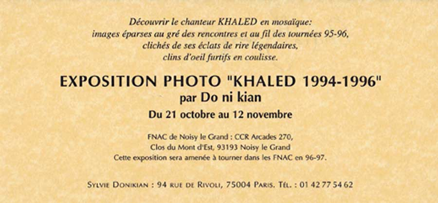 Expositions Khaled 2/2