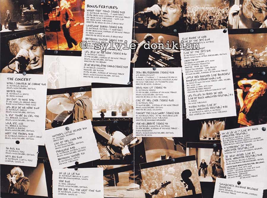 Livrets CD et DVD Arno 2/4