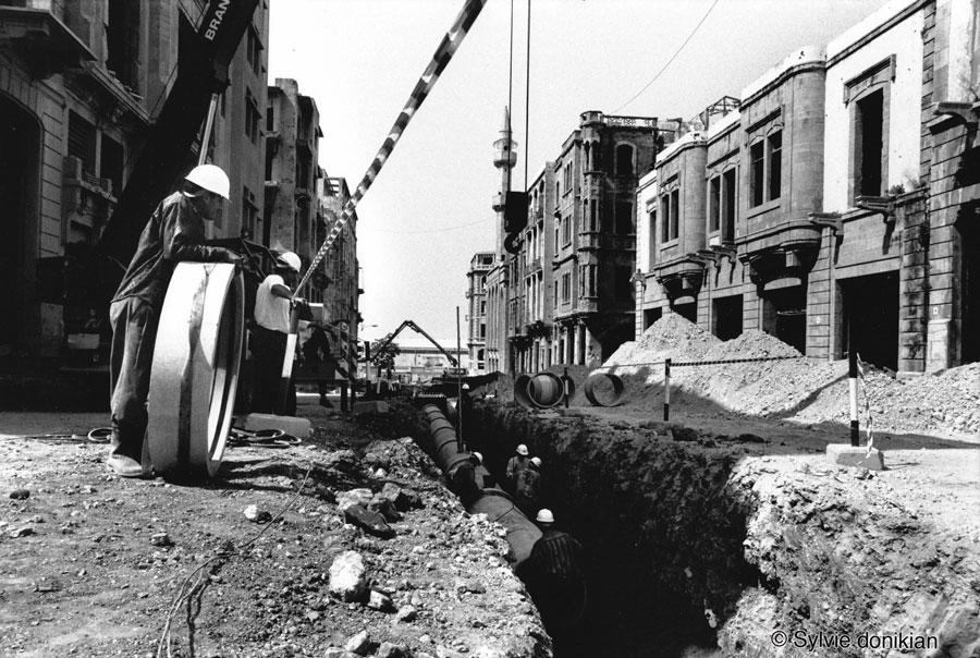 Prémices de la reconstruction des quartiers du Centre Ville de Beyrouth 2