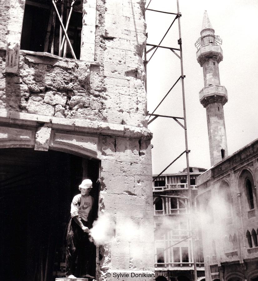 Prémices de la reconstruction des quartiers du Centre Ville de Beyrouth 4