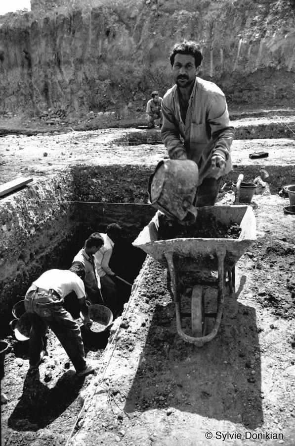 Chantiers des fouilles dans les quartiers du Centre – Ville de Beyrouth 2